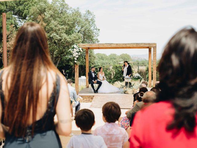 La boda de Robert y Aina en Llofriu, Girona 55