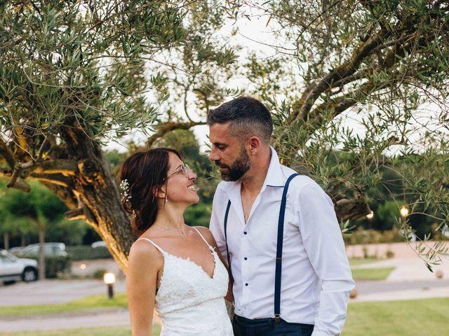 La boda de Robert y Aina en Llofriu, Girona 1