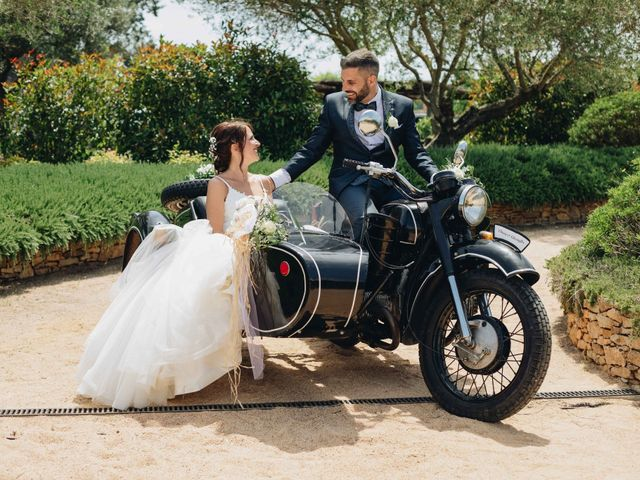 La boda de Robert y Aina en Llofriu, Girona 77