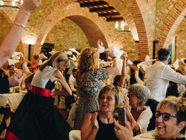 La boda de Robert y Aina en Llofriu, Girona 98