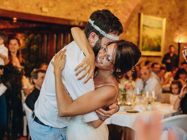La boda de Robert y Aina en Llofriu, Girona 122
