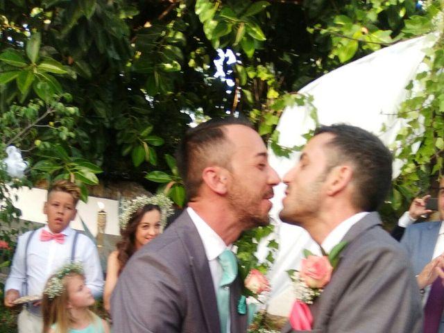 La boda de Quique  y Juanma  en Mijas, Málaga 4
