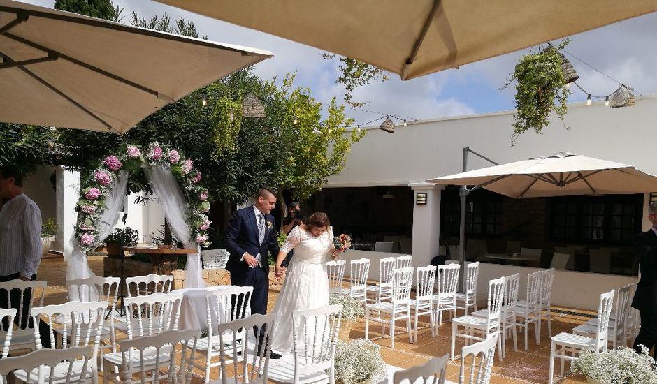 La boda de Cristian y Noemí en Santa Gertrudis De Fruitera, Islas Baleares