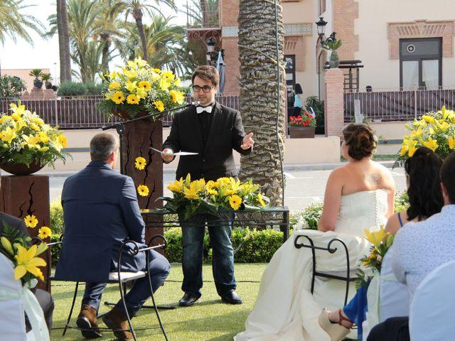 La boda de Miguel Ángel y Anastasia en San Pedro Del Pinatar, Murcia 2