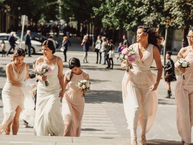 La boda de Francis y Christina en Donostia-San Sebastián, Guipúzcoa 35