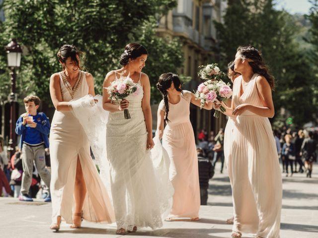 La boda de Francis y Christina en Donostia-San Sebastián, Guipúzcoa 36