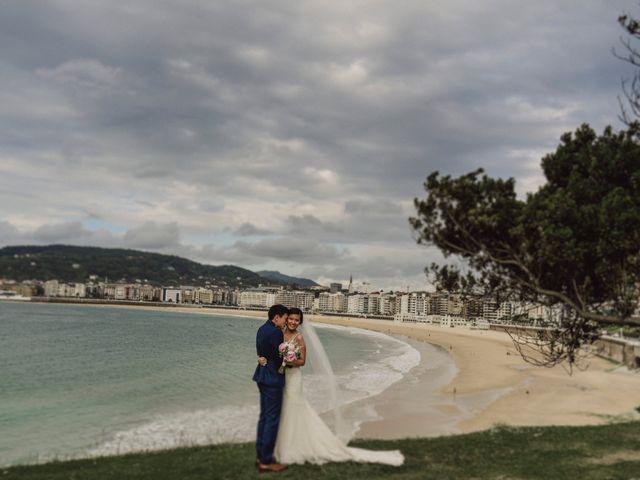 La boda de Francis y Christina en Donostia-San Sebastián, Guipúzcoa 58