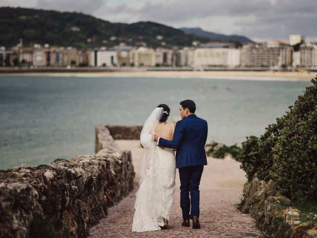 La boda de Francis y Christina en Donostia-San Sebastián, Guipúzcoa 64