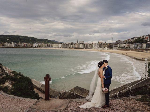 La boda de Francis y Christina en Donostia-San Sebastián, Guipúzcoa 65