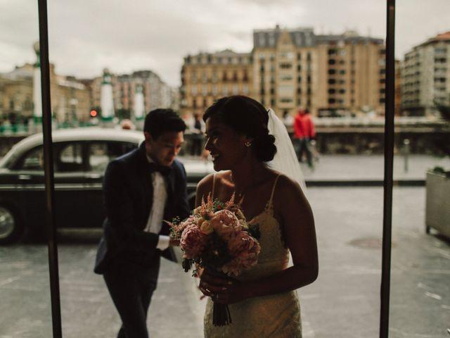 La boda de Francis y Christina en Donostia-San Sebastián, Guipúzcoa 81