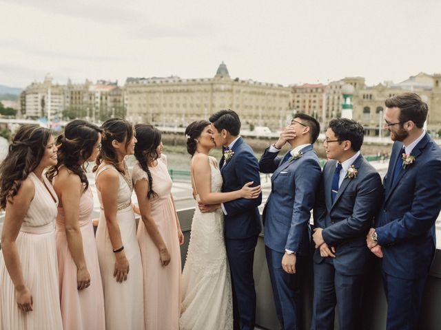 La boda de Francis y Christina en Donostia-San Sebastián, Guipúzcoa 88