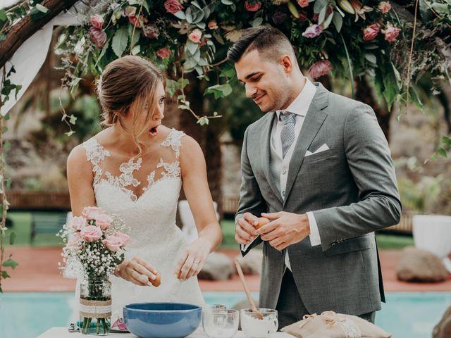 La boda de Adrián y Jenifer en Santa Maria De Guia, Las Palmas 34