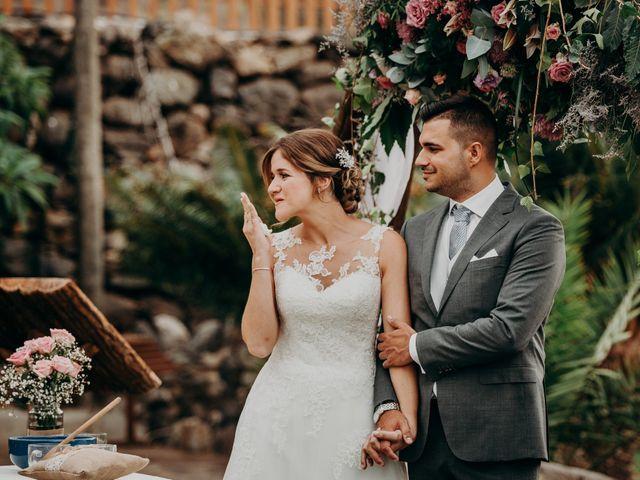 La boda de Adrián y Jenifer en Santa Maria De Guia, Las Palmas 37