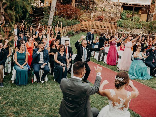 La boda de Adrián y Jenifer en Santa Maria De Guia, Las Palmas 41