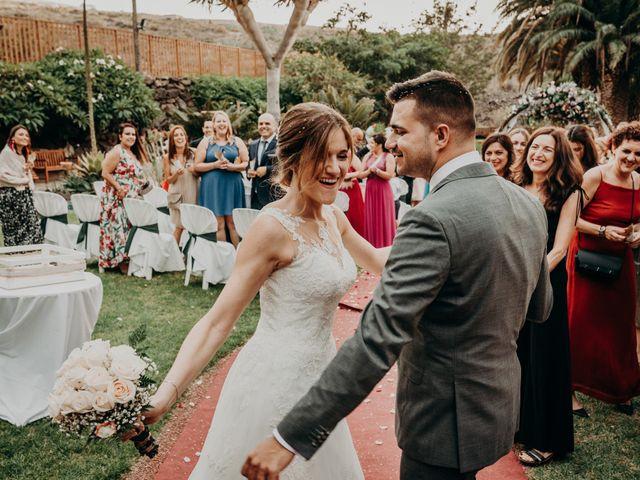 La boda de Adrián y Jenifer en Santa Maria De Guia, Las Palmas 46
