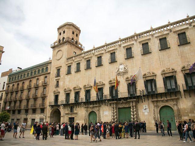 La boda de Raúl y Ana en Alacant/alicante, Alicante 48