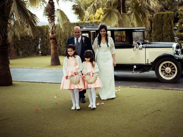 La boda de Jesus y Pilar en Lebor, Murcia 85