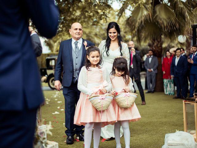 La boda de Jesus y Pilar en Lebor, Murcia 86