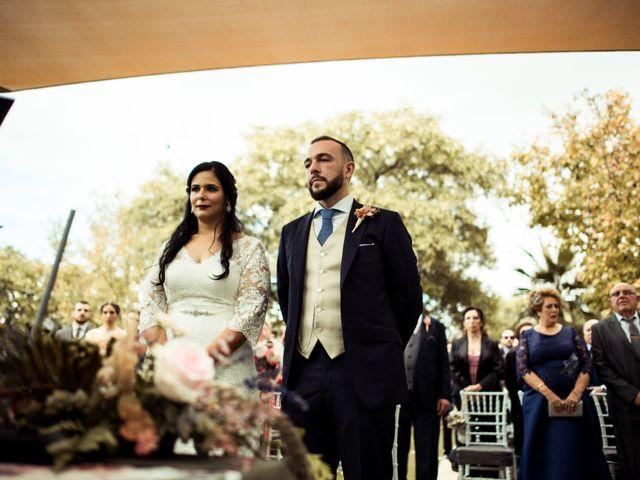 La boda de Jesus y Pilar en Lebor, Murcia 91