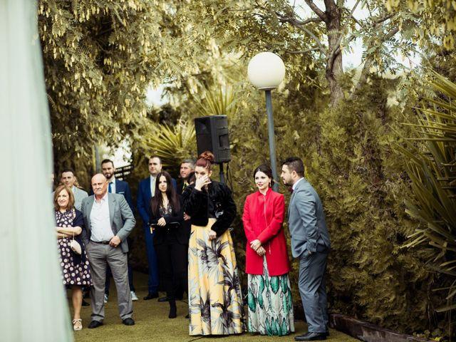 La boda de Jesus y Pilar en Lebor, Murcia 134