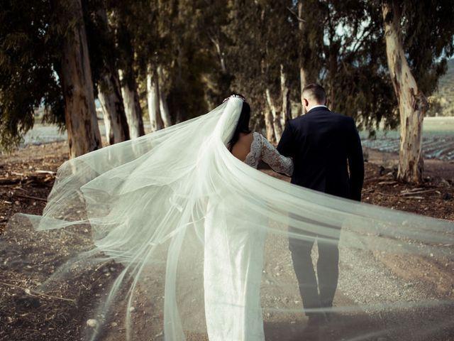 La boda de Jesus y Pilar en Lebor, Murcia 1