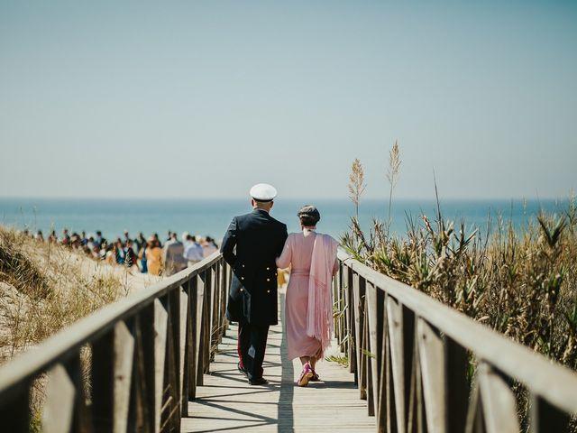 La boda de Jorge y Esperanza en El Palmar, Cádiz 27