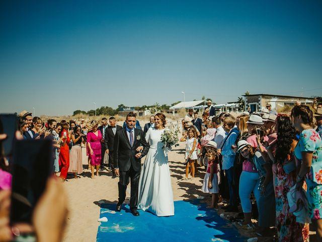 La boda de Jorge y Esperanza en El Palmar, Cádiz 33