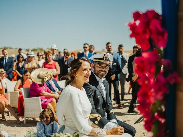 La boda de Jorge y Esperanza en El Palmar, Cádiz 35