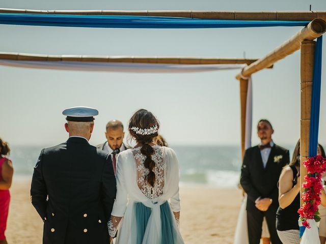 La boda de Jorge y Esperanza en El Palmar, Cádiz 39