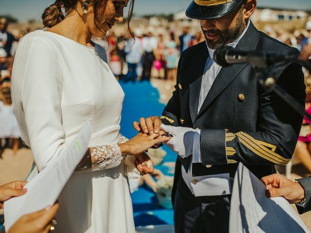 La boda de Jorge y Esperanza en El Palmar, Cádiz 40