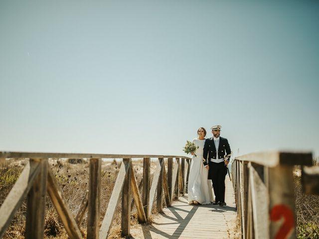La boda de Jorge y Esperanza en El Palmar, Cádiz 47