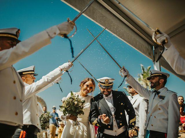 La boda de Jorge y Esperanza en El Palmar, Cádiz 48