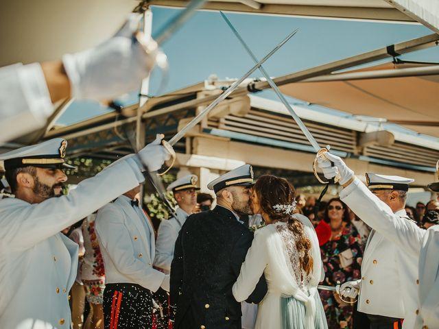 La boda de Jorge y Esperanza en El Palmar, Cádiz 50