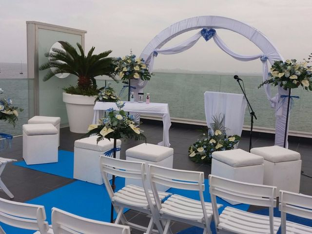 La boda de Cristina y Alejandro en La Ribera, Murcia 1