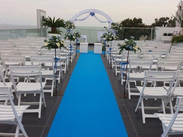 La boda de Cristina y Alejandro en La Ribera, Murcia 2