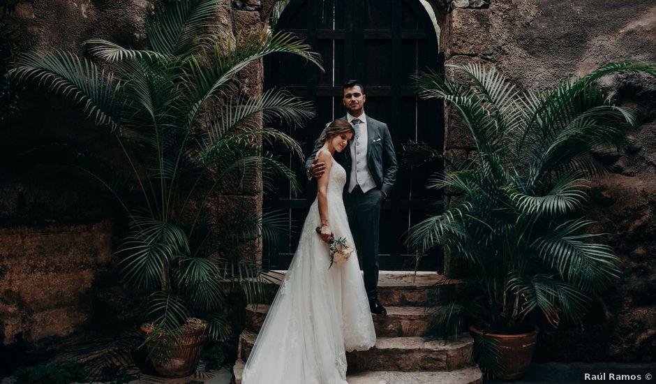 La boda de Adrián y Jenifer en Santa Maria De Guia, Las Palmas