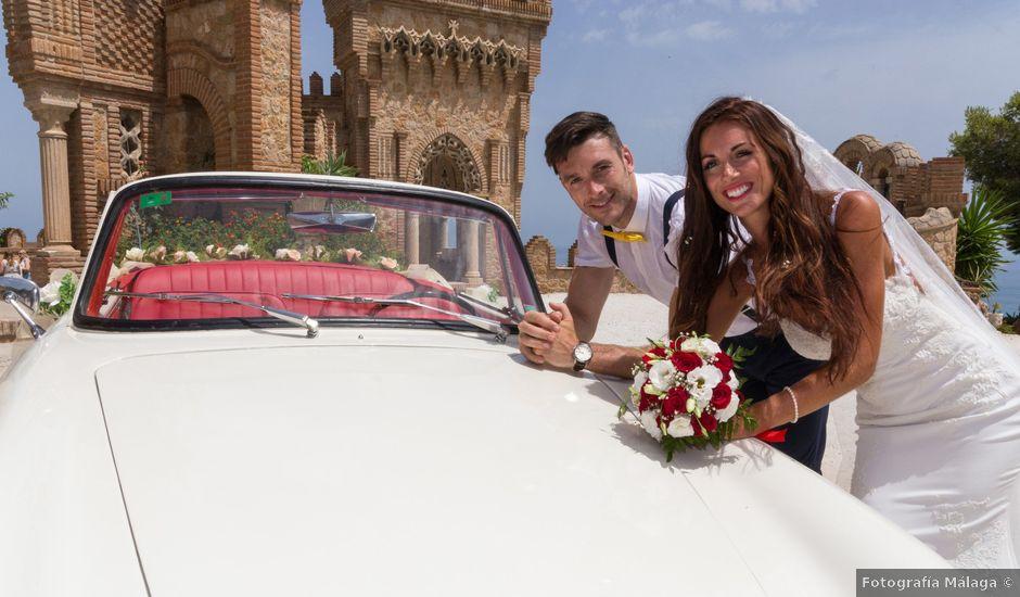 La boda de Tom y Becky en Pueblo Benalmadena, Málaga