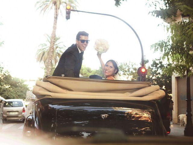 La boda de Sergio y Stefania en El Puig, Valencia 1