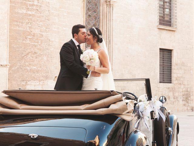 La boda de Sergio y Stefania en El Puig, Valencia 61