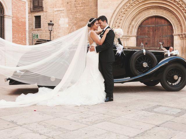 La boda de Sergio y Stefania en El Puig, Valencia 62