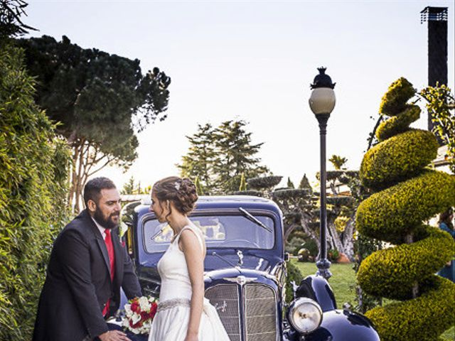 La boda de Dani y Araceli en Griñon, Madrid 36