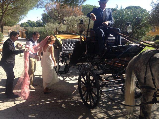La boda de Miguel  y Veronica  en Talamanca Del Jarama, Madrid 12