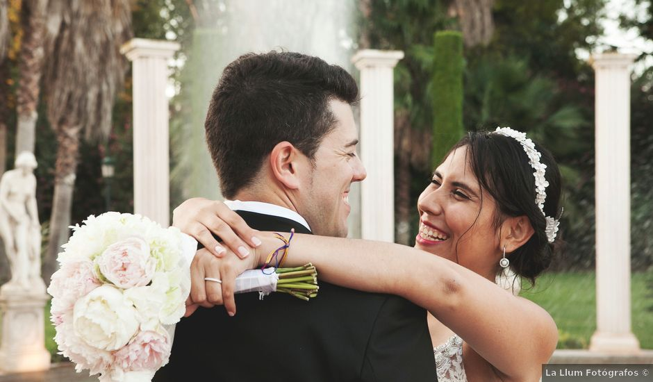 La boda de Sergio y Stefania en El Puig, Valencia