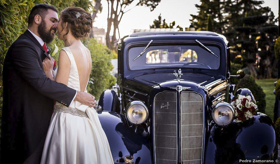 La boda de Dani y Araceli en Griñon, Madrid