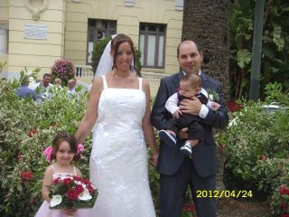 La boda de Jesus y Fabiola