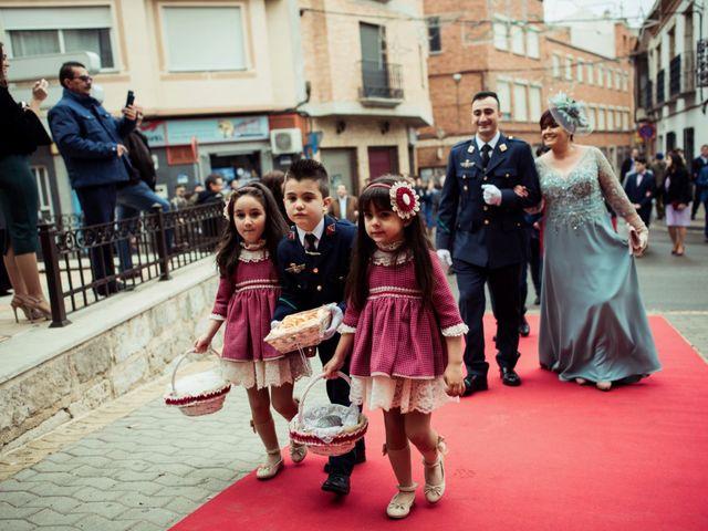 La boda de Javi y Sonia en Villarrubia De Los Ojos, Ciudad Real 21