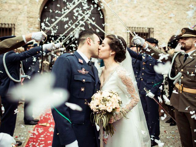 La boda de Javi y Sonia en Villarrubia De Los Ojos, Ciudad Real 1