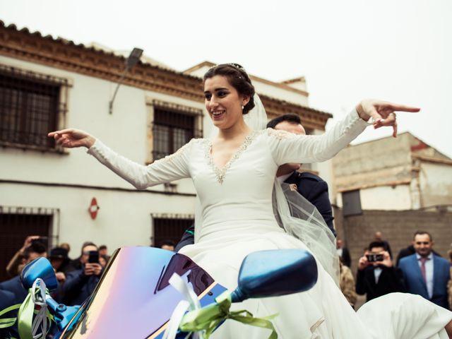 La boda de Javi y Sonia en Villarrubia De Los Ojos, Ciudad Real 35