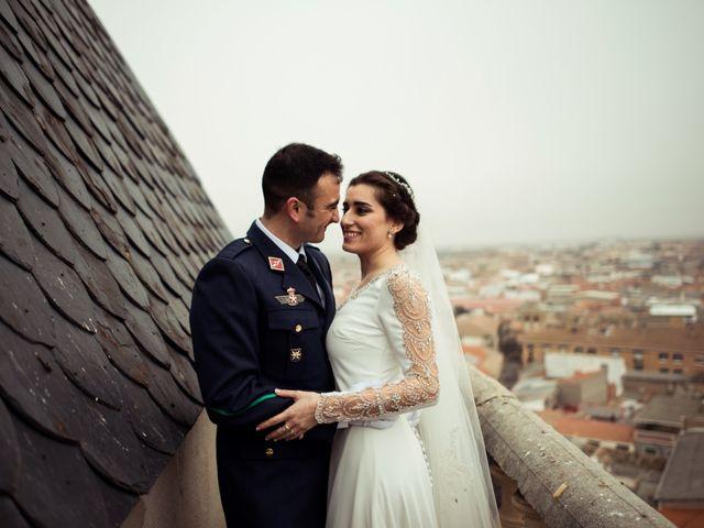 La boda de Javi y Sonia en Villarrubia De Los Ojos, Ciudad Real 38