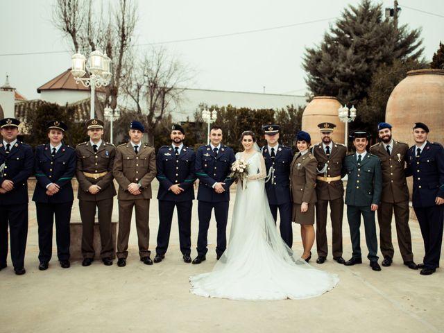 La boda de Javi y Sonia en Villarrubia De Los Ojos, Ciudad Real 45